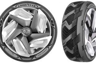 Reifentechnologie: moderne Autoreifen.