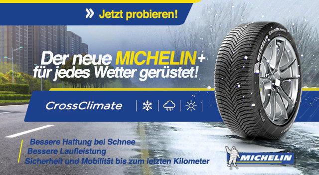 Neue Michelin Cross Climate +