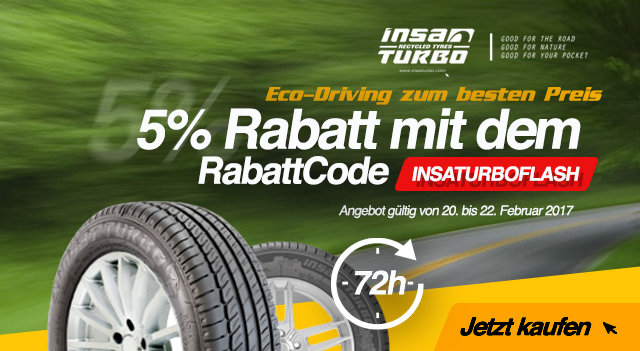 Insaturbo Flash Angebot